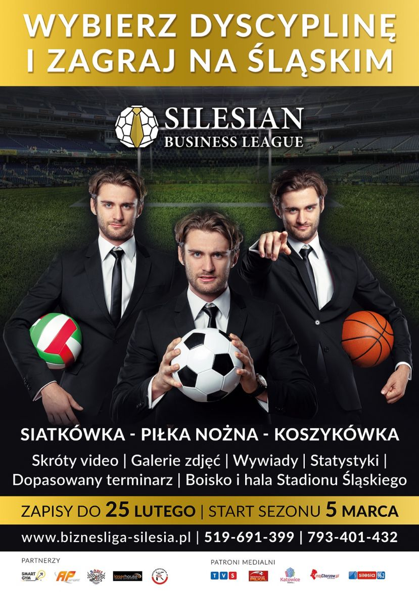 Silesian Business League - Sezon Wiosna 2018 [INFORMACJA]